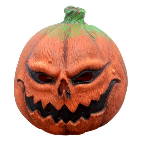 Classic Halloween Pumpkin Head Mask