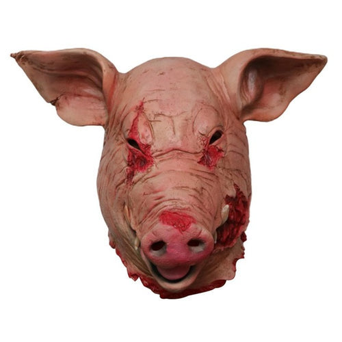 Bloody Horror Pig Head Animal Mask