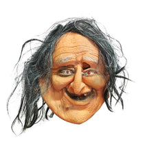 Load image into Gallery viewer, Funny Old Lady Halloween Mask
