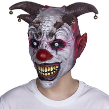 Load image into Gallery viewer, Jingle Jangle The Clown Creepy Horror Mask