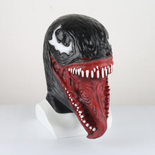 Load image into Gallery viewer, Dark Superhero Realistic Venom Mask