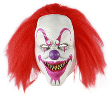 Load image into Gallery viewer, Purple Makeup Smiling Killer Clown Mask