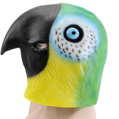 Colorful Parrot Bird Animal Head Mask