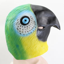 Load image into Gallery viewer, Colorful Parrot Bird Animal Head Mask
