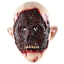 Load image into Gallery viewer, Bloody Zombie Eaten Face Horror Mask