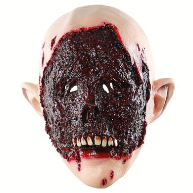 Bloody Zombie Eaten Face Horror Mask
