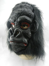 Load image into Gallery viewer, Hairy Gorilla Head Animal Mask