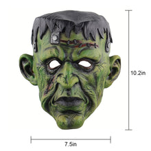 Load image into Gallery viewer, Frankenstein Green Monster Mask
