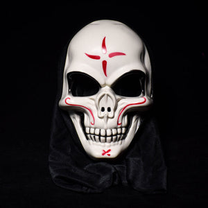 Breathable Forehead Design Candy Skull Mask