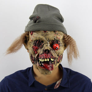 Evil Spirit Tomb Keeper Zombie Eyeball Halloween Mask