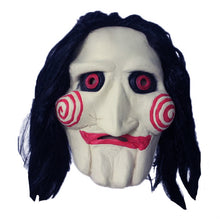 Load image into Gallery viewer, Saw Jigsaw Puppet Horror Mask