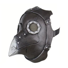 Load image into Gallery viewer, Steampunk Gothic Plague Doctor Leather Mask