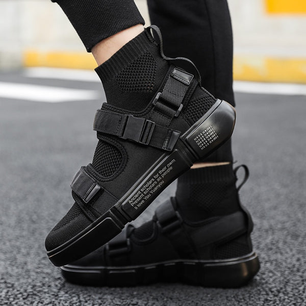 Men Casual Shoes Fashion Brand Men Shoes Black Vulcanize Shoes for Men Breathable Sneakers Outdoor Leisure Footwear