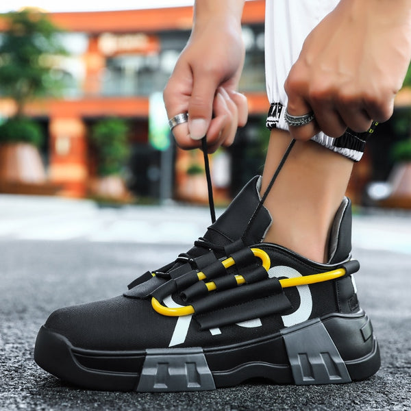 Leader Show Men Casual Shoes Comfortable Non-slip Fashion Shoes for Men Vulcanize Shoes Outdoor Brand Leisure Footwear Flats