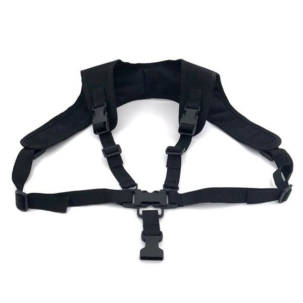 Adjustable Tactical Chest sling for securing guns and other tactical wears.