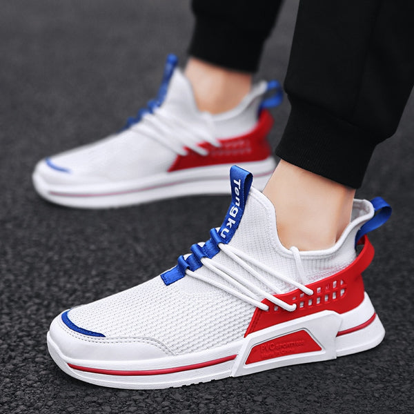 New Spring Summer Autumn Men's Shoes Breathable Mesh Coconut Shoes Sneakers Running Shoes Men's Flat Casual Y13