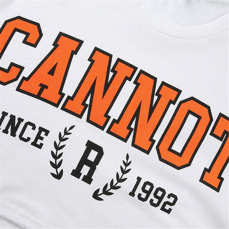 Cannot Crop Tee