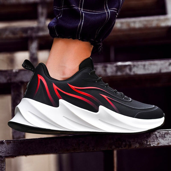 Men Casual Shoes Flying Weave Men's Shoes Fashion Breathable Men Flats Shoes Fashion Men's Sneakers Zapatillas Hombre Flat Shoes