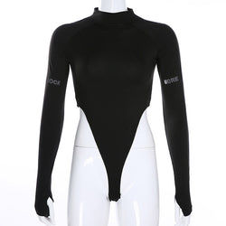 Reflective Long Sleeve Bodysuit