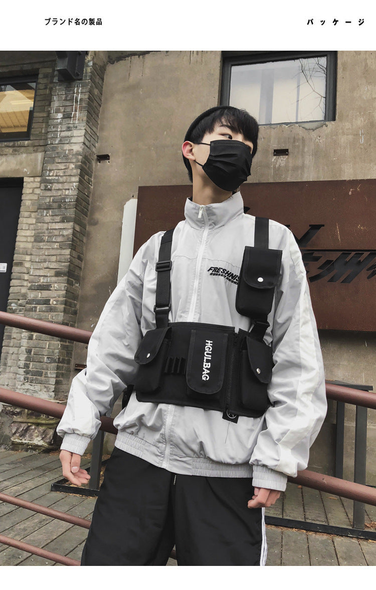 Streetbeast Korean Chest Bag