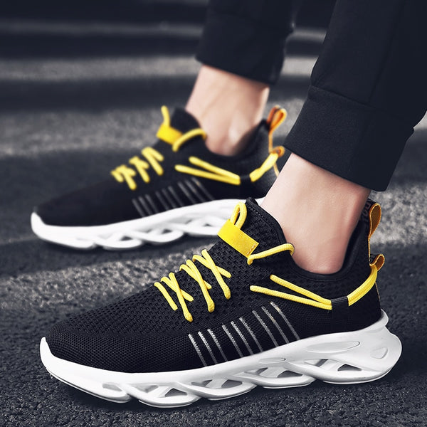 Men Casual Shoes Outdoor Fashion Men Shoes Comfortable Sneakers for Men Leisure Shoes Black Flats Zapatillas Hombre