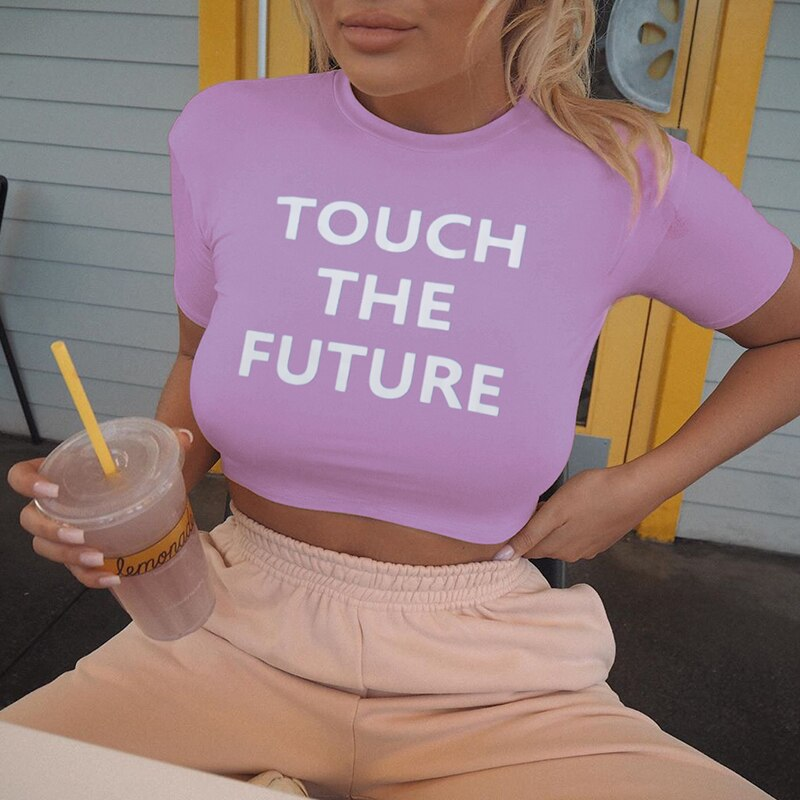 See The Future Crop Top