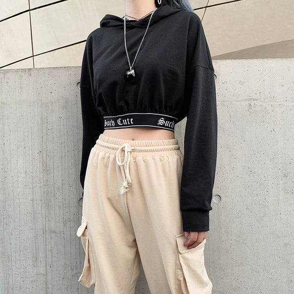 Such Cute Cropped Hoodie