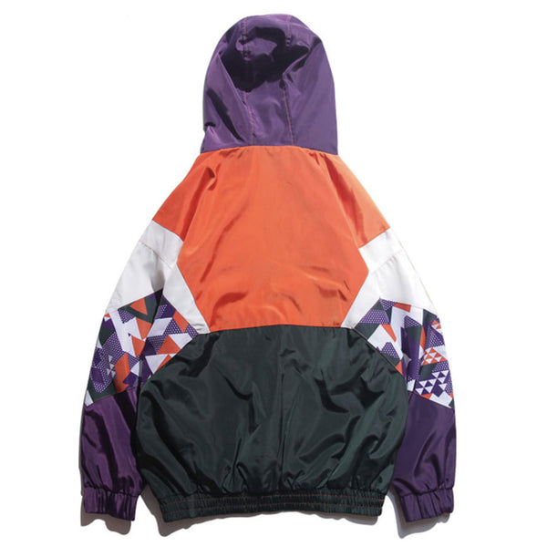 Kaleidoscopic Windbreaker