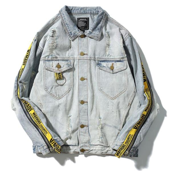 Warning Denim Jacket