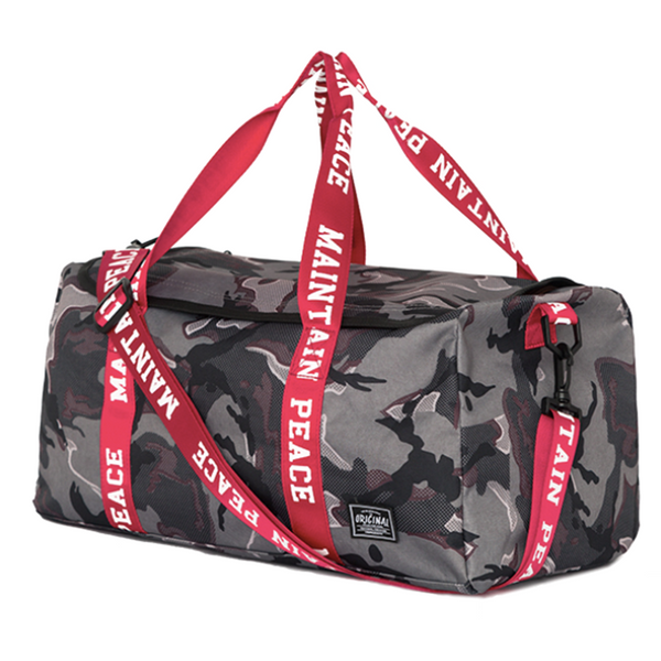 Maintain Peace Camo Travelbag