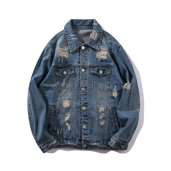 Burning Candle Denim Jacket