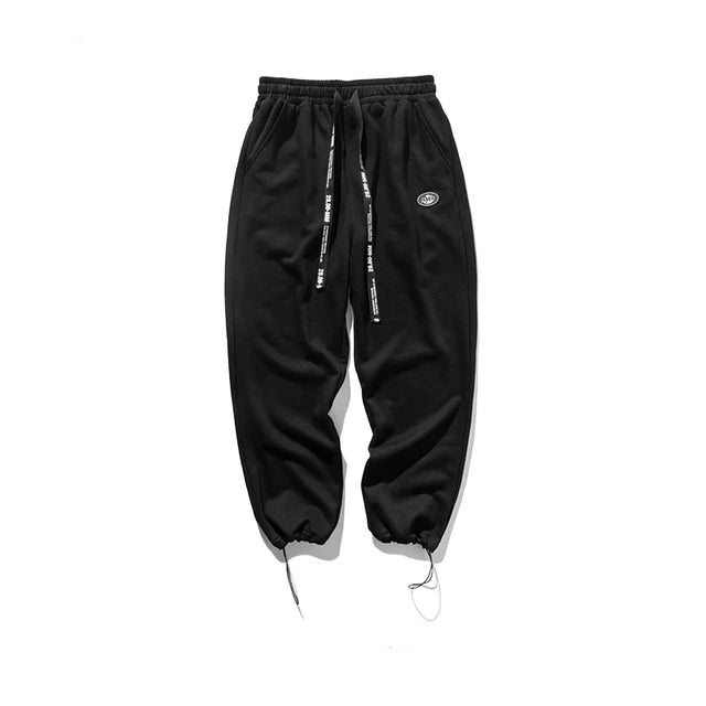 Super Loose Fit Men Sweatpants In Pure Color Loose Fit Retro Style Mens Sweatpants Street Wear Men Pants 93402W