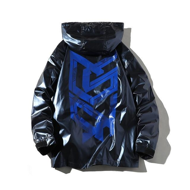 Distress Lightning Windbreaker
