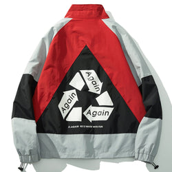Recycle Again Windbreaker