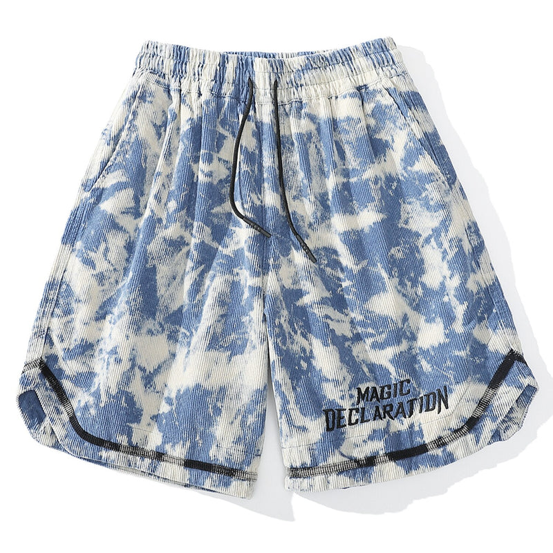 Magic Declaration Tie Dye Shorts
