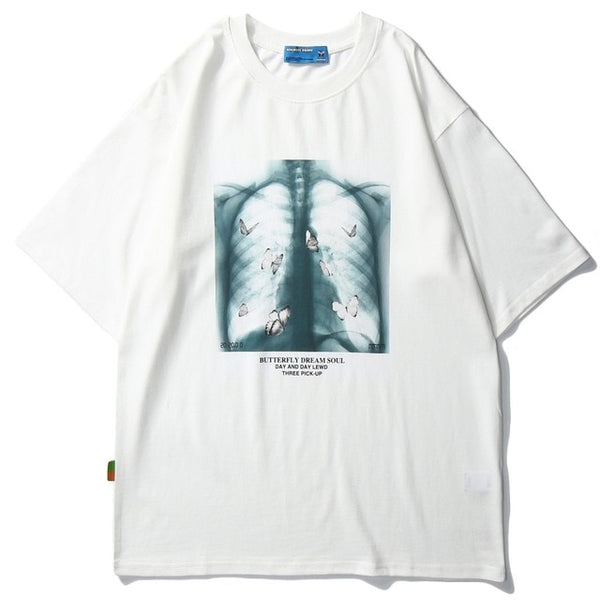 Butterfly Ribs Tee