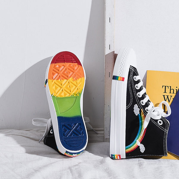 Rainbow Power Sneakers