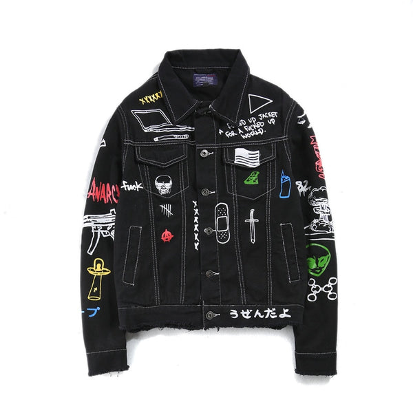 C2H4 Denim Jacket
