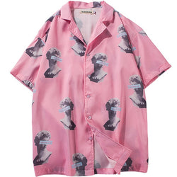 Pink Statues Shirt