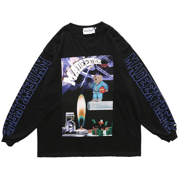Space Bear Sweater