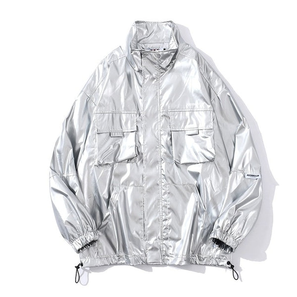 Metalic Glaze Windbreaker