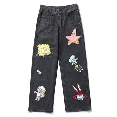 Spongebob Denim Pants