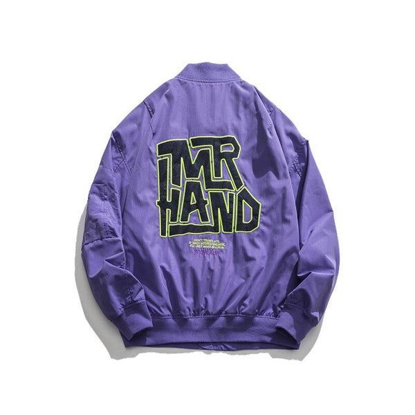 Mr Hand Bomber Jacket