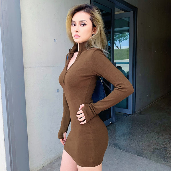 Cold Day Mini Dress
