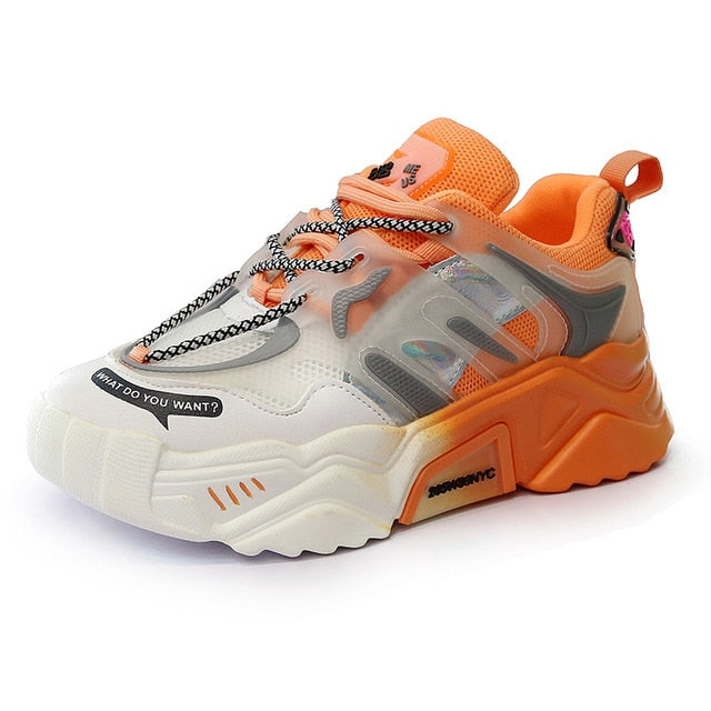 What Do You Want Chunky Sneakers
