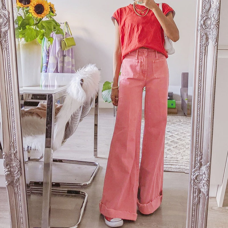 Strawberry Straight Pant