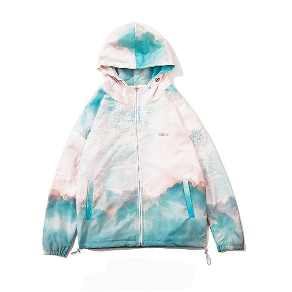 Run Forest Tie Dye Jacket