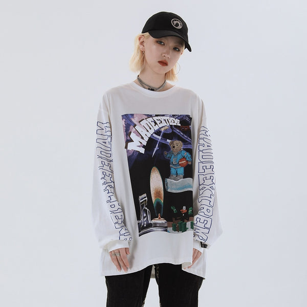Space Teddy Sweatshirt