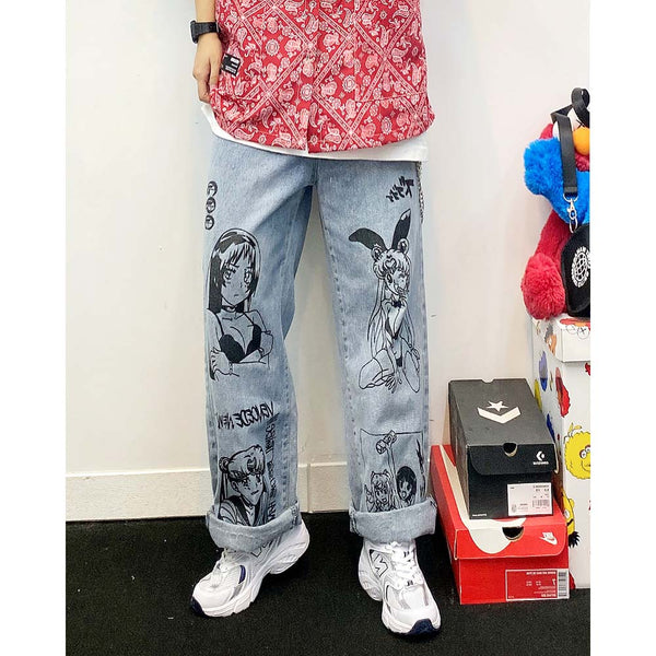Sailormoon Denim Pants