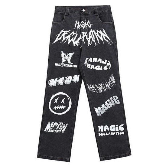 Magic Declaration Denim Pants